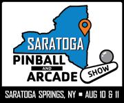 2018 Saratoga Pinball & Arcade Show