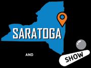 2018 Saratoga Pinball & Arcade Show Logo